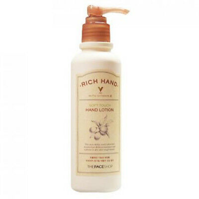 [THE FACE SHOP] Rich Hand V Soft Touch Hand Lotion 200nl