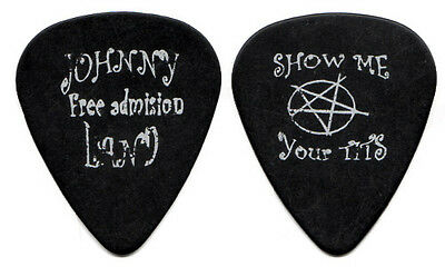 ROB ZOMBIE Guitar Pick : 1999 Hellbilly Deluxe Tour - Johnny Show Me pentagram