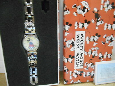 Bradford Exchange Mickey Mouse Replica Watch From 1933 With Box