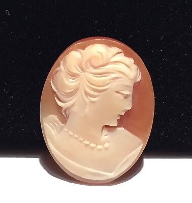 Vtg Loose Carved Shell Cameo