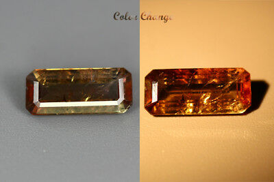 2.170 Ct  Earth Mined Unique Dazzling 100% Natural Dancing' Color Change Axinite