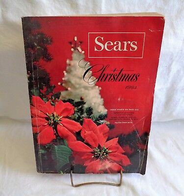 Vintage Sears Christmas Catalog 1964 Toys
