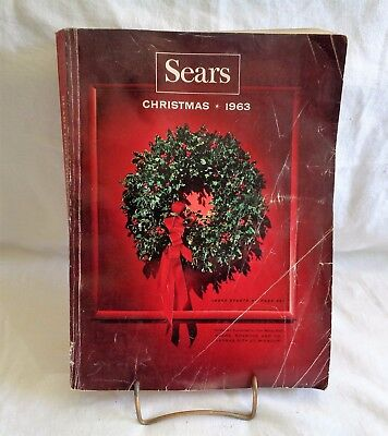 Sears Vintage Christmas Catalog 1963 Toys