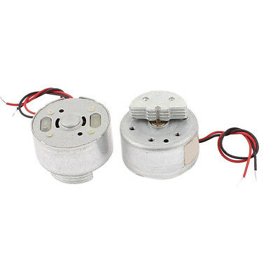 DC 1.5-3V 2700RPM CD DVD Player Torque Mini Vibration Motor 2 Pcs M4C9