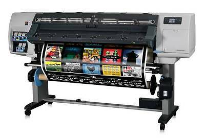 """Hp L25500 60"""" Printer Plotter Car Wrap Signs With Rip Financing Inks Z6100 Latex"""