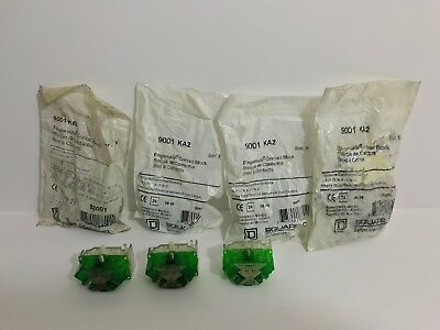 (7) New! Square D Contact Blocks 9001-Ka2 Series K