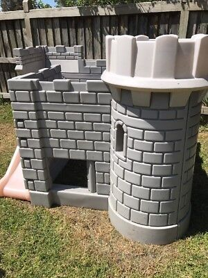 Little Tikes Castle Cubby House Slide Princess Knight