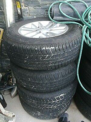 Used Toyota Hilux SR5 Wheels and Tyres