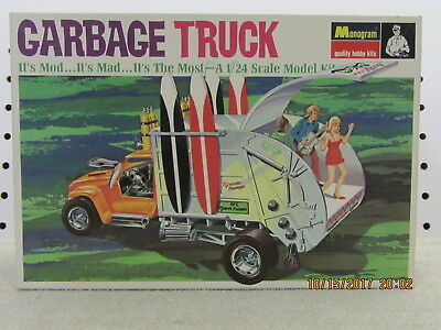 1969 Orig. Issue Monogram Tom Daniel Garbage Truck 1/24 , Not 1994 With 1968 Box