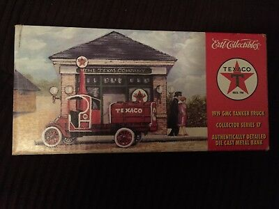 Ertl Collectibles Texaco 1919 GMC tanker truck