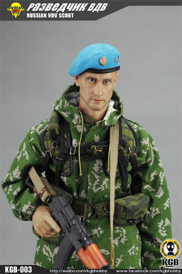 Collectible KGB003 1/6 Russian VDV Scout Soldier Limited Clothing Weapon Models