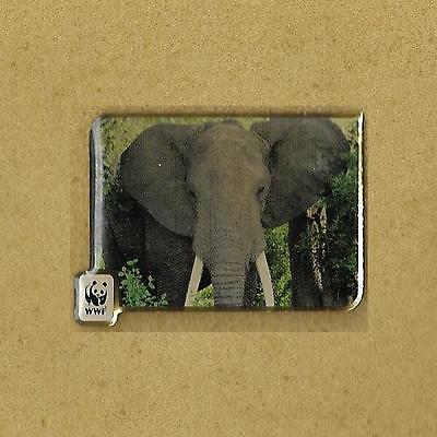 Elephant 1986 World Wildlife Funds Wwf Activa Pin
