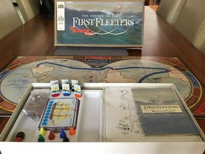 Vintage First Fleeters Game Perfect Condition 1986