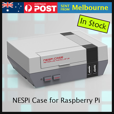 NESPi Case for Raspberry Pi 3 2 B+ Mini Retro Retroflag NES SNES Gaming Arcade
