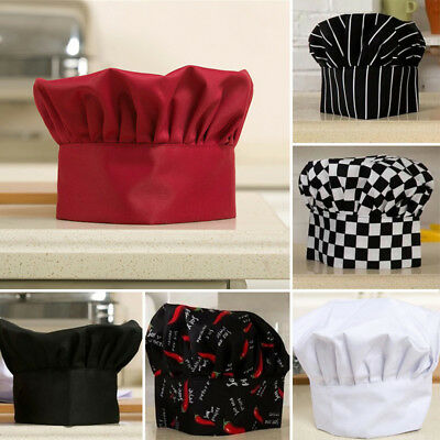 Comfortable Cook Adjustable Men Kitchen Baker Chef Elastic Cap Hat Catering New#