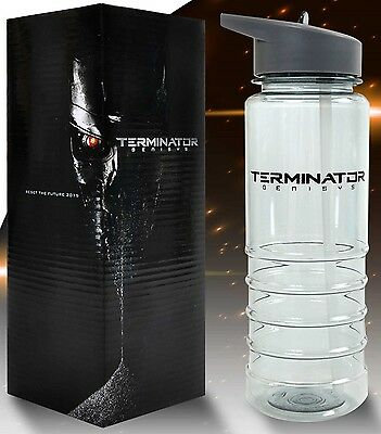 TERMINATOR GENISYS - Water Bottle - PROMO - Just the ticket for a movie/DVD fan!