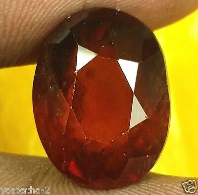 15.95 CT Hessonite 100% Natural GIE Certified Unheated & Untreated Gemstone
