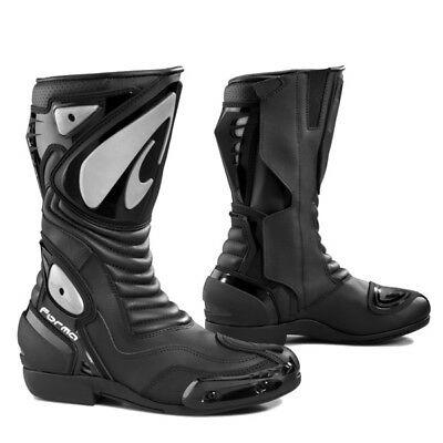 Forma Arrow SX black sports motorcycle boots
