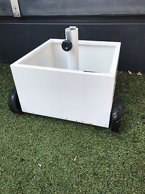 Portable Planter Box Umbrella Stand
