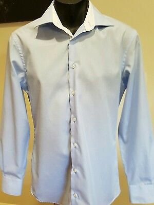 Daniel Hechter Paris Mens' Cotton  Shirt Size 39