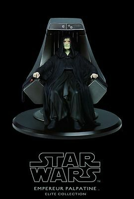Star Wars Emperor Palpatine Imperial Throne Elite Collection Attakus !! PROMO !!
