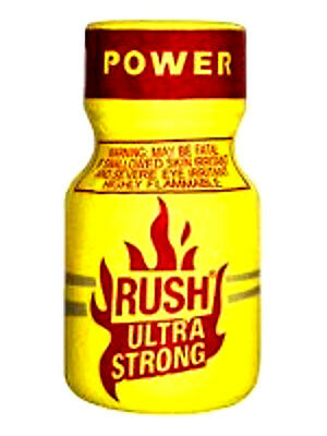 RUSH ULTRA strong POPPER INCENSO rave party gay liquid XXXX