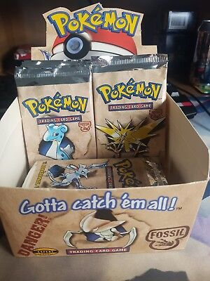 Pokemon FACTORY SEALED Fossil Booster Unlimited