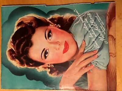"""Vintage Maybelline """"Beauty Lies Within Your Eyes"""" Ad"""