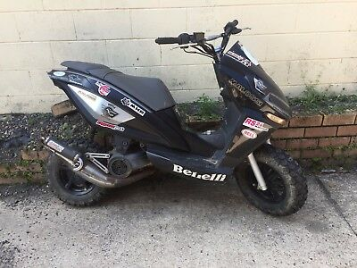 Benelli 49X Dirt Scooter - Race Scooter, perfect for Dust Hustle