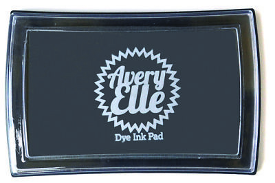 Avery Elle Stamp Dye Pad - Fog (grey) - Includes free ink refill