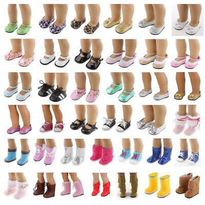 Doll Shoes Sandal Boots for 18'' American Girl Our Generation Doll Clothes Dress