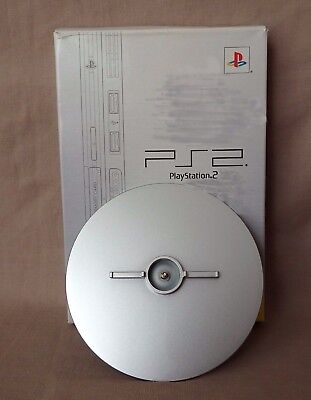Sony PlayStation 2 Genuine PS2 Slim Satin Silver Vertical Stand LASTAUCTIONDAYS