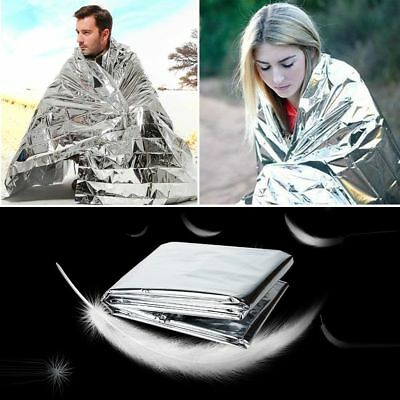 Outdoor Emergency Solar Blanket Survival Safety Insulating Mylar Thermal Heat
