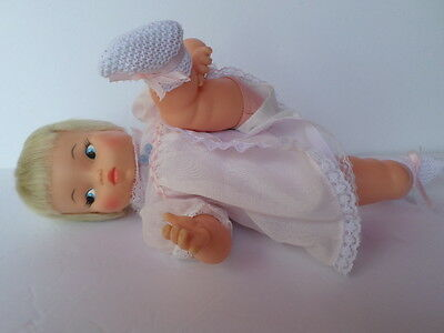 "VINTAGE IDEAL 1960's BEWITCHED TABITHA THUMBELINA 14"" DOLL WORKS!"