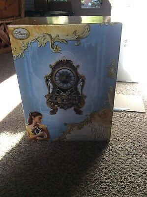 Disney Parks Live Action Beauty And The Beast Limited Edition Cogsworth Clock