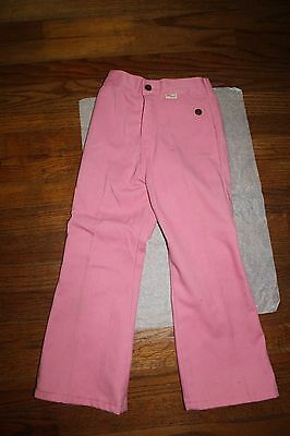 Vintage 1970s Girls' Darling JCPenney Pink Super Denim Jeans Trousers Pants