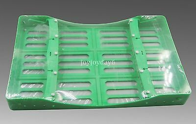 AY Dental Tray Box Plate Sterilization Surgical Instrument Green 10*1 Large JY