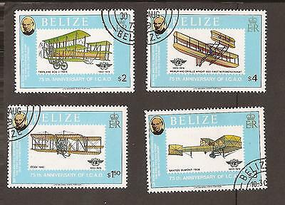 Belize.1979 Scott 445-448 (Used) High values only. Planes