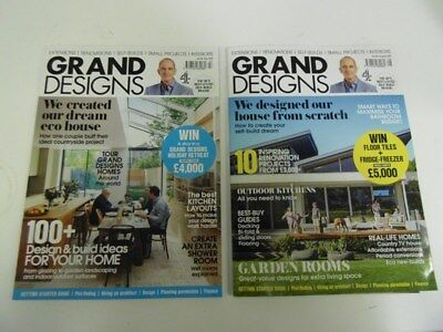 Grand Designs x 2 - July/Aug. 2017