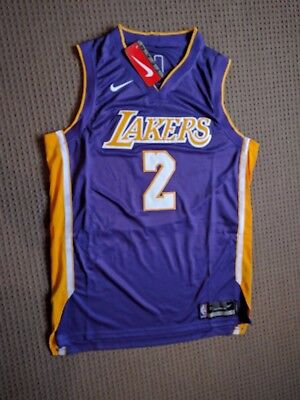 (L) Brand New Nike 2017-18 Lonzo Ball Home And Away Jersey
