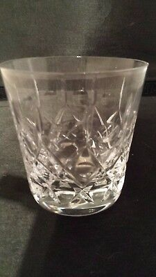 Royal Doulton Crystal 'belvedere' Old Fashion Whiskey Tumbler (3 Available)