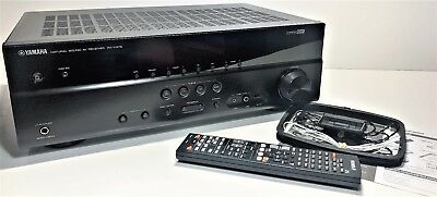 Yamaha Rx-V375 | Hd 3D Natural Sound Av Receiver | Hdmi | Complete Box, Remote