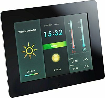 Intenso 3919800 8 Inch WeatherStar DPF and Weather Station with 800 x 600