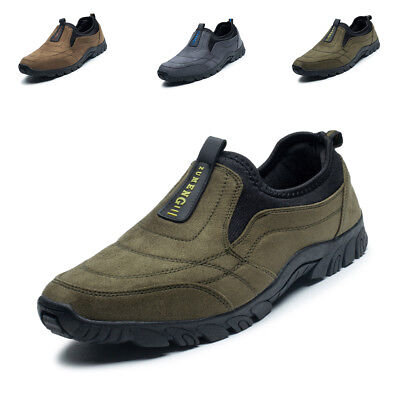 Men Hiking Shoes Outdoor Running Trail Summer Slip-on Climbing Moutain Sneakers