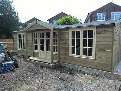 Summer House, Games room, Garden Office: Order now for WINTER & get £300 OFF