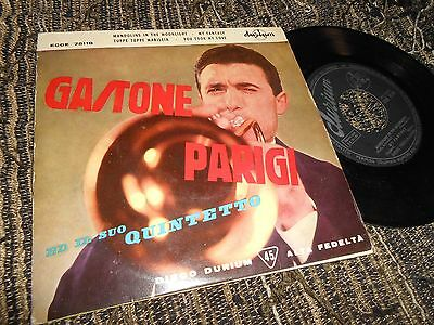 GASTONE PARIGI&IL SUO QUINTETTO Mandolins in the moonlight +3 EP 45 1959 SPAIN