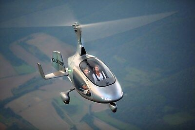 Gyrocopter Experience in an Enclosed Cavalon 1hr