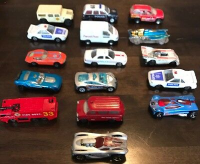 Matchbox Die Cast Metal Cars Mixed Lot Of 16 Fast Free Post