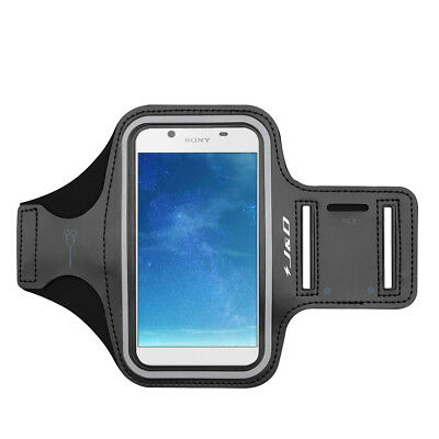 J&D Sony Xperia L1 Sport Armband with Keyholder Slot/Earphone Connection