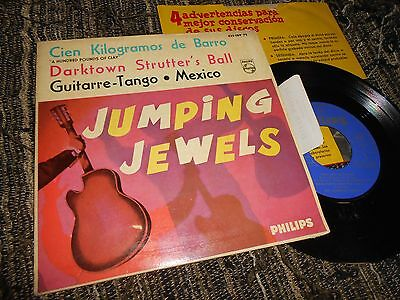 "THE JUMPING JEWELS Cin kgs. de barro +3 EP 45 7"" 1963  SPAIN SPANISH edition"
